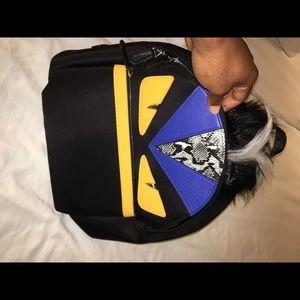 Fendi Bookbag comes with dust bag